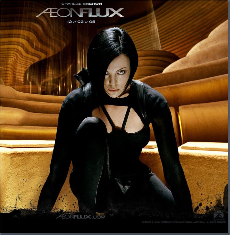 charlize theron - aeon flux