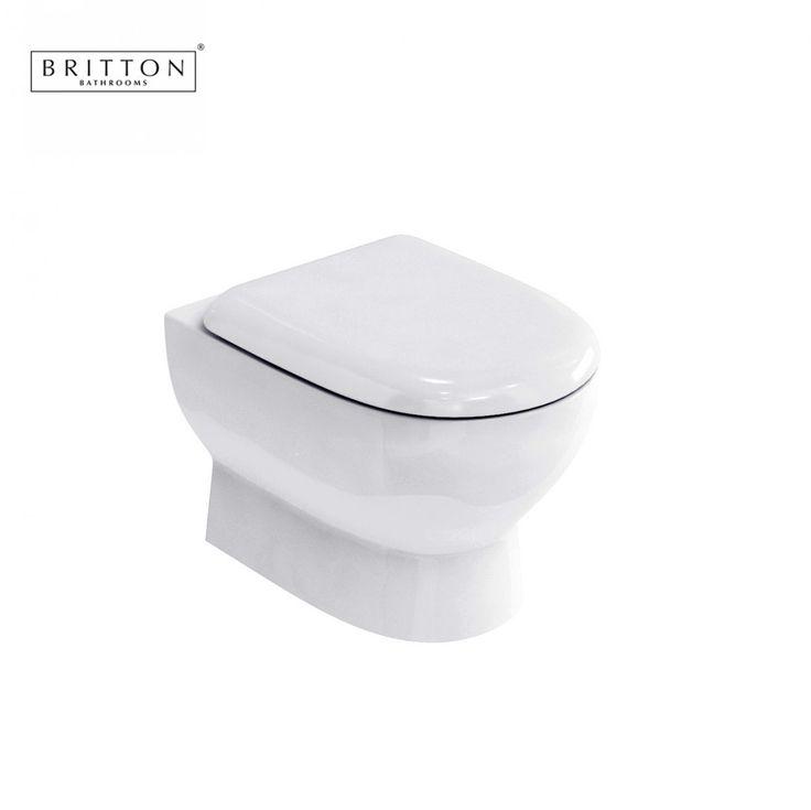 Britton Compact Wall Hung Pan