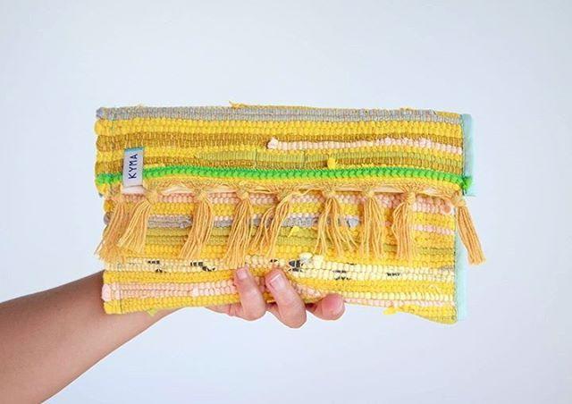 Clutch Pouch Handbag Bag Tasche ~ Bohemian Boho Gipsy Ibiza Style ~ Kourelou Rug ~ Handmade by http://www.kymastyle.com ~ DaWanda Shop: http://kymastyle.dawanda.com