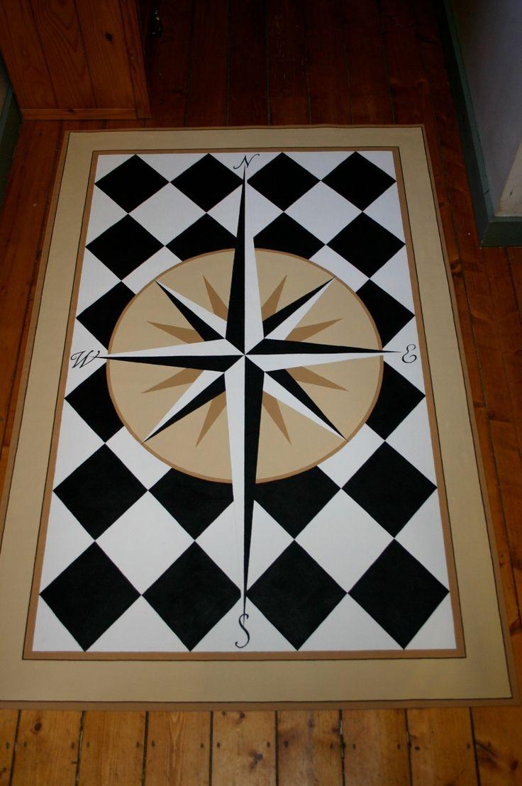 25 Best Ideas About Painted Floor Cloths On Pinterest