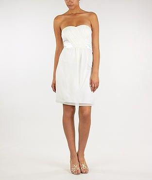 Robe longue blanche morgan