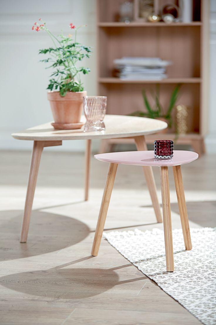 TAPS hjørnebord, LEJRE sofabord, KALBY reol / bokhylle. | Skandinaviske hjem, nordisk design, Nordic Retro, Skandinavisk design, nordiske hjem, retro | JYSK