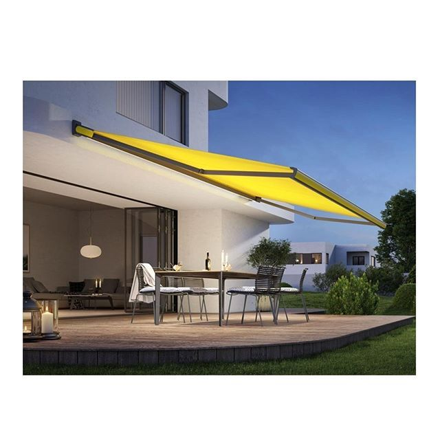 Shapely Curves Clean Lines A Fascinating Colour Spectrum These Are The Defining Features Of The New Markilux It Mx 3 Box Awni Patio Awning Retractable Awning