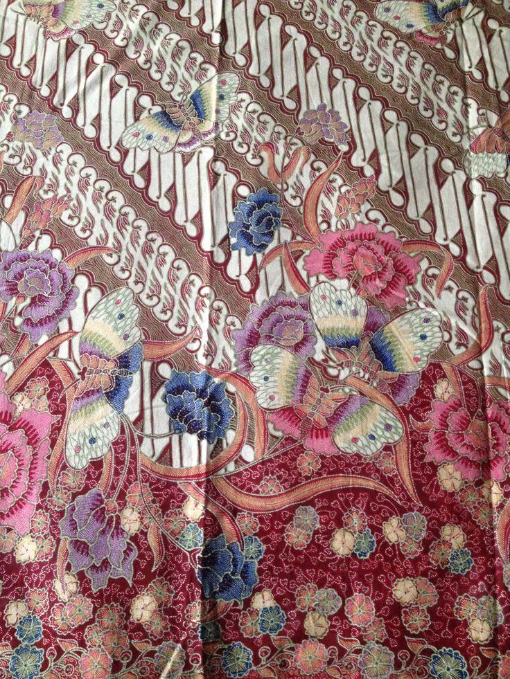 Batik encim parang and butterfly from Danar Hadi