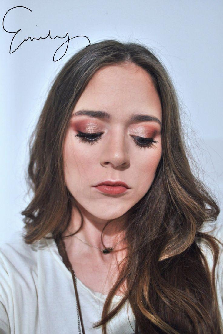 makeup forever mat velvet foundation, jaclyn hill x morphe eyeshadow palette, huda beauty lipstick shade: bombshell.