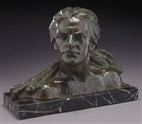 Bust depicting Jean Mermoz, 1900 - 1999