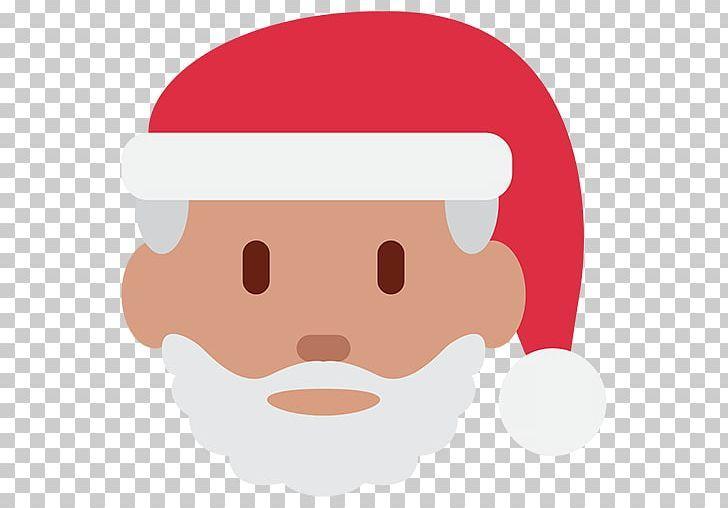 Santa Claus Emoji Father Christmas Christmas Tree Png App Store Cartoon Cheek Chin Christmas Father Christmas Santa Claus Santa Face