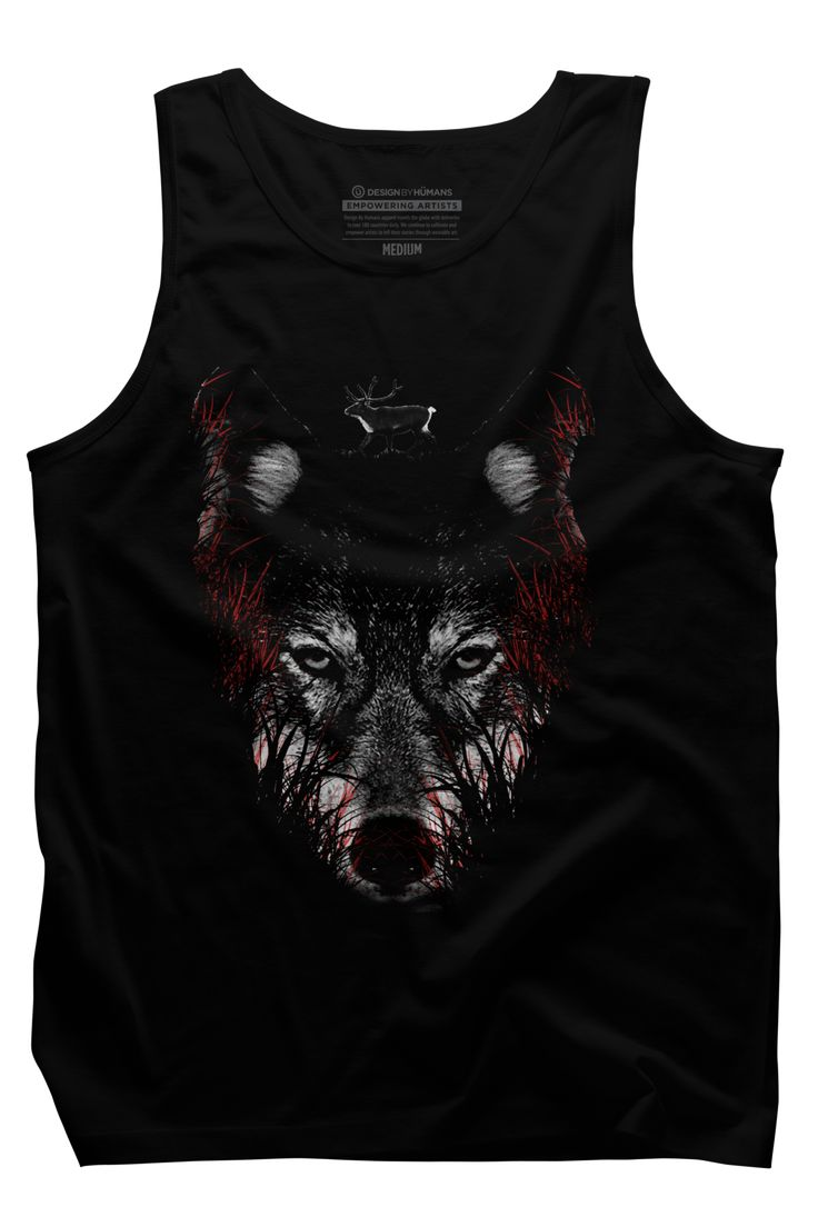 Where will you hide? Mens Tank Top