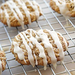 Iced Oatmeal Applesauce Cookies.  I make these all the time & they are fabulous.  tried & true recipe.
