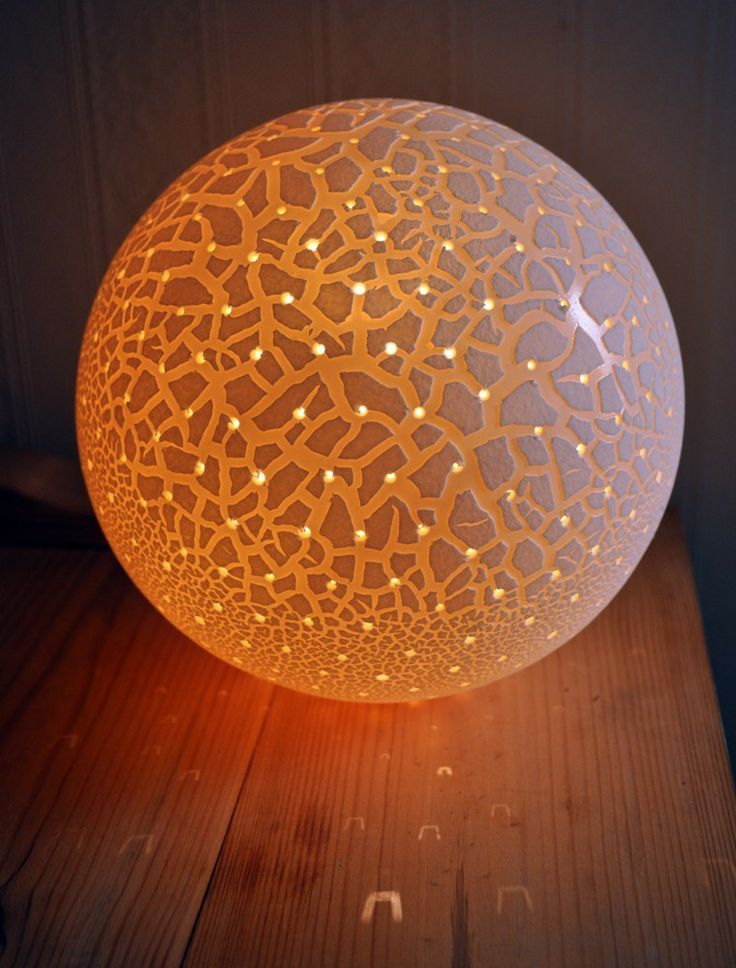 Pinhole pollen lamp by amy cooper radiance