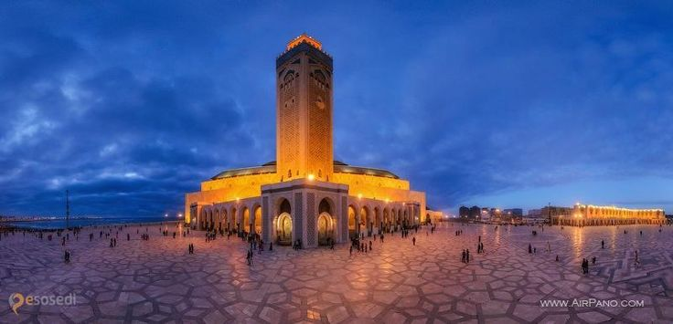 Касабланка – #Марокко #Большая_Касабланка (#MA_08) Прогуляйтесь по достопримечательностям Касабланки с помощью панорам AirPano.ru http://ru.esosedi.org/MA/08/1000202648/kasablanka/