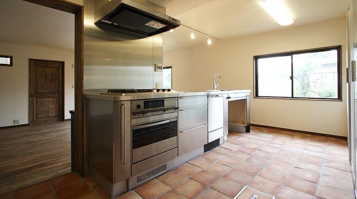 キッチン&リビング 雰囲気が素敵