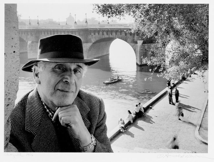 El fotografo Arnold Newman en1956