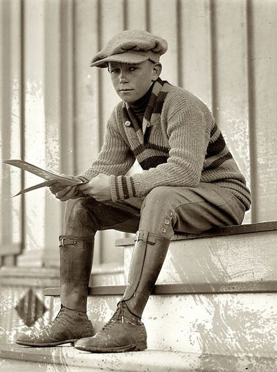 Working Boy 1920s