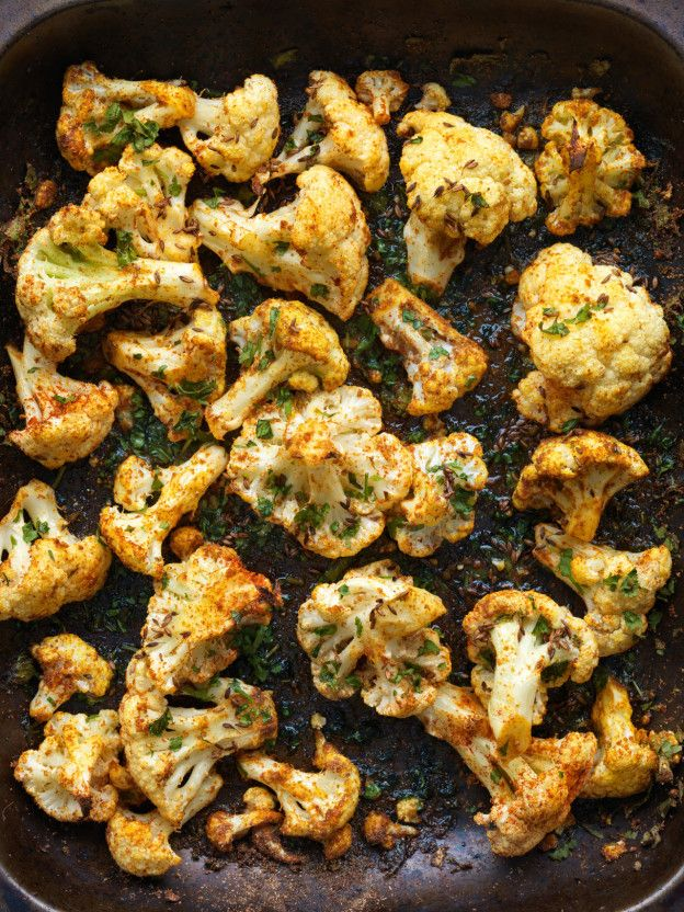 Roasted Cauliflower with Punjabi Seasonings // Here & Now's resident chef Kathy Gunst gives her picks for the best cookbooks of the year.