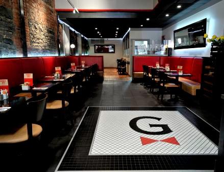 LES TROIS GARÇONS, Quebec, Canada. Restaurant interior design by Lemaymichaud.
