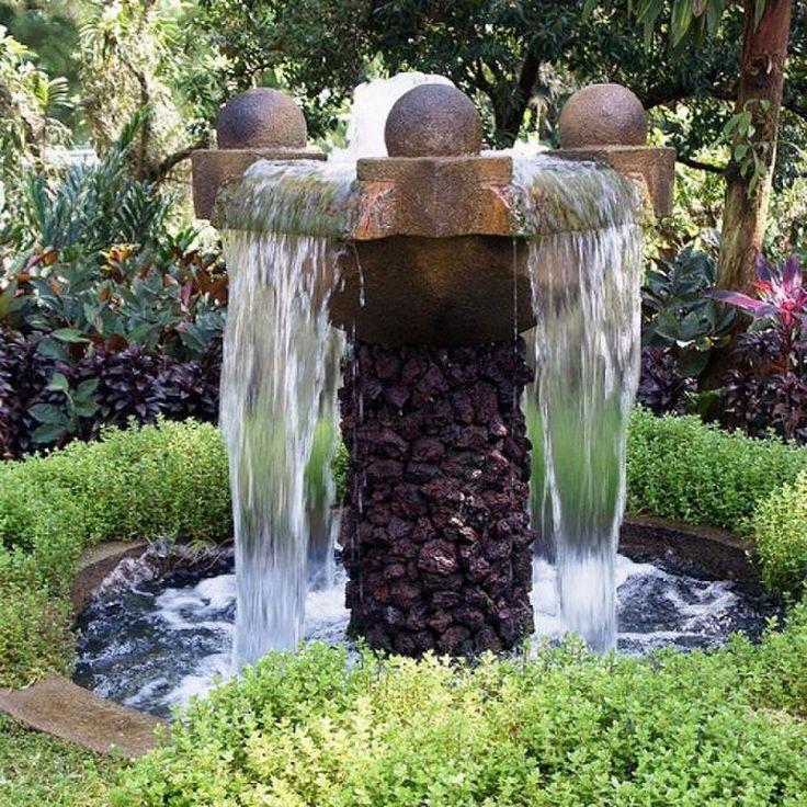 Stunning 199 Backyard Water Fountains Design Ideas https://architecturemagz.com/199-backyard-water-fountains-design-ideas/
