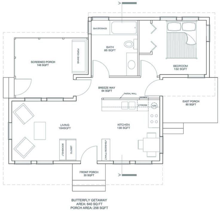 689 best images about house plans on pinterest log cabin for Modern guest house plans
