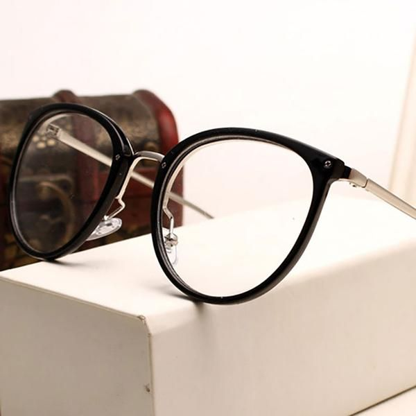 Vintage Decoration Optical Eyeglasses Frame myopia round metal men women unisex spectacles