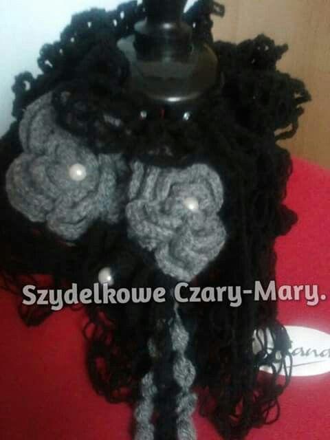 Szalik # crochet
