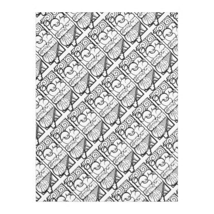 ICE CREAM GRAFFITI FLEECE BLANKET - black and white gifts unique special b&w style