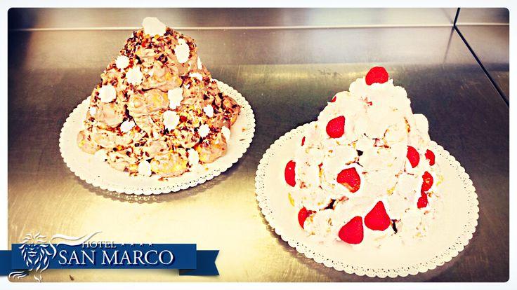 i nostri fantastici #dolci #pie #cakes preparati con tanto #amore dal nostro Chef Giulio ❤  www.sanmarco.org