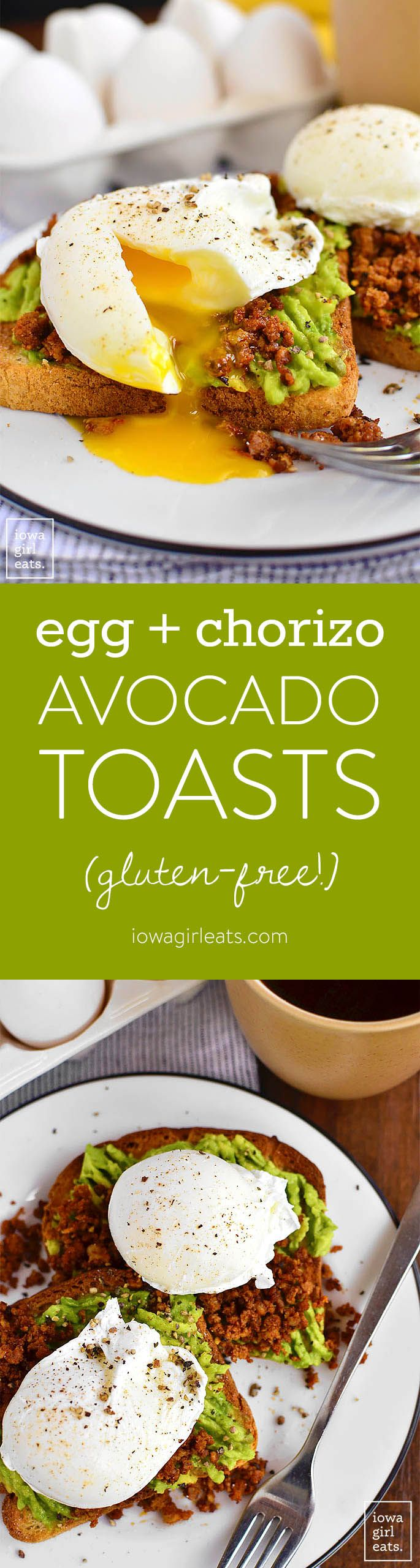 ... and Chorizo Avocado Toasts | Recipe | Avocado Toast, Chorizo and Toast
