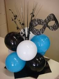 Image result for masquerade decorations                                                                                                                                                     More