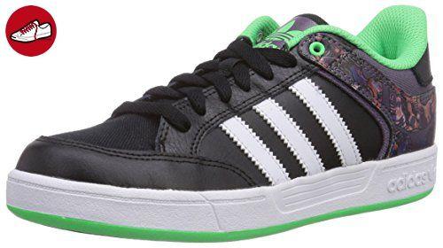 adidas Varial Low, Unisex-Erwachsene Sneakers, Schwarz (Core Black/Ash Purple S15-St/Flash Green S15), 39 1/3 EU (6 Erwachsene UK) - Adidas sneaker (*Partner-Link)
