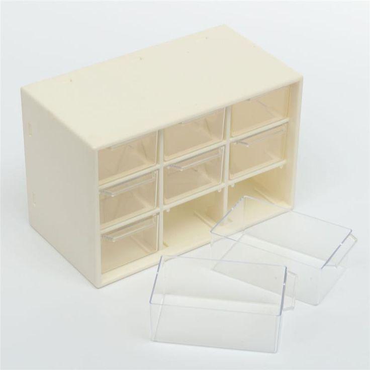 Мини мусора шкафы пластиковые 9 для хранения ювелирных изделий решетки портативный Amall ящик сортировки сетки рабочего офисная техника купить на AliExpress