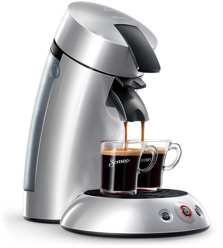 Senseo Original HD7818 Pod coffee machine 0.7L Silver - coffee makers (freestanding, Pod coffee machine, Coffee pod, Coffee, Silver, Buttons, Touch)