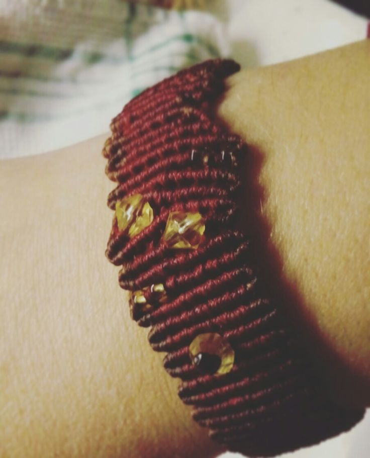 #makrame #Christmas #gift #brown #red #handmade #mpprojects You can order on our Etsy store. Happy New Year!!!!!!