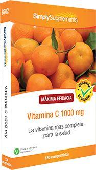 Nuestro suplemento Vitamina C 1000 mgproporciona la cantidad diaria recomendada de esta vitamina. Benefíciese ya de todas sus propiedades.