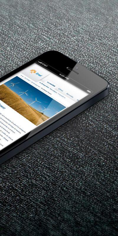 Mobile web site