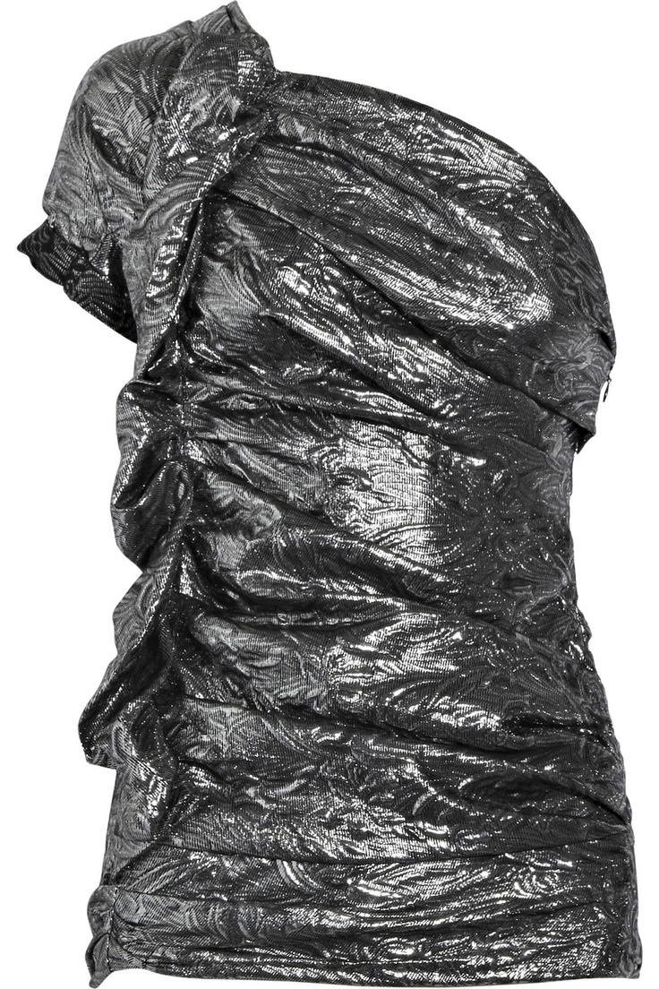 Isabel Marant - Gulu silk-blend brocade topConcealer Zip, Gulu Silk Blends, Brocade Tops, Brocade Asymmetrical, Asymmetrical Tops, Metals Silk Blends, Silk Blends Brocade, Silkblend Brocade, Gulu Silkblend