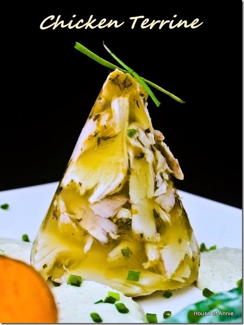 Chicken Terrine (isn't this an aspic?)