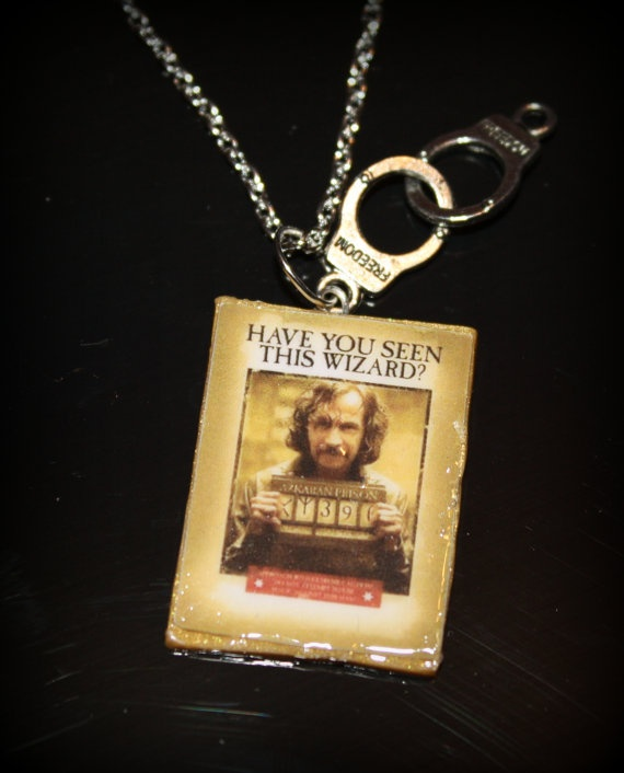 Harry Potter Sirius Black Wanted Poster Polymer Clay