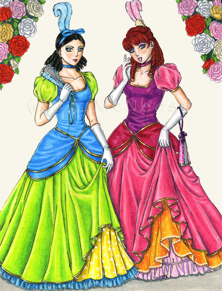 Truly Wicked? by AyaneShinobi on deviantART Cinderella's stepsisters, Drizella and Anastasia Tremaine