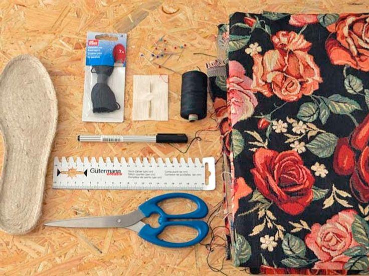 Tutoriale DIY: Haz tus propias alpargatas personalizadas vía DaWanda.com