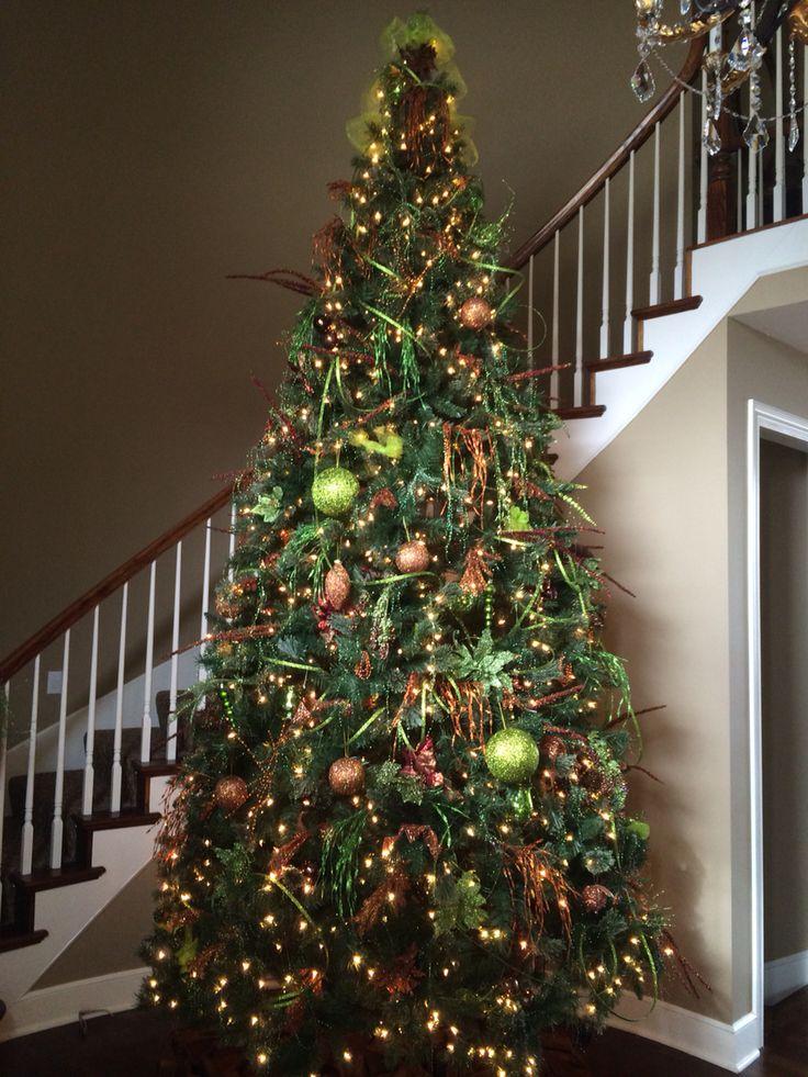 our 12 ft christmas tree - 12 Ft Christmas Tree