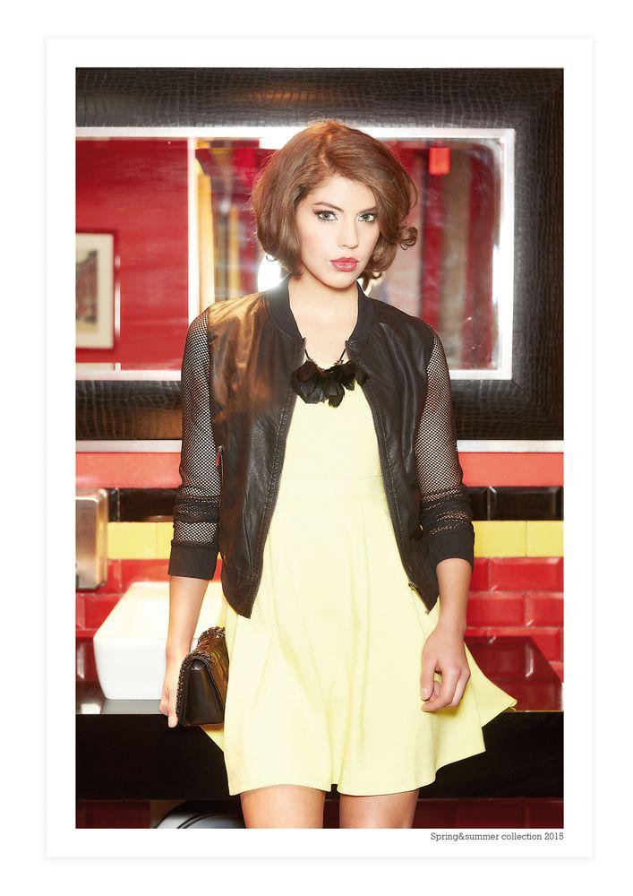 #forwomen #clothing #fashion #glostory #grey #black #white #jacket #cool #dress