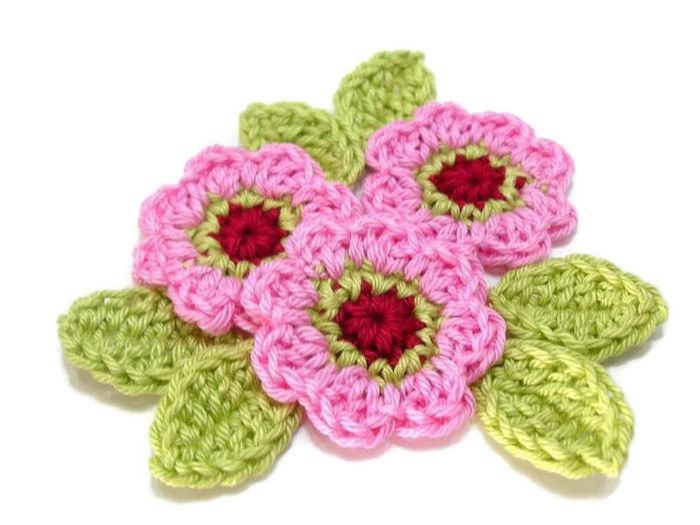 Crochet Wisteria Flower Pattern : 3919 best images about crochet flower on Pinterest