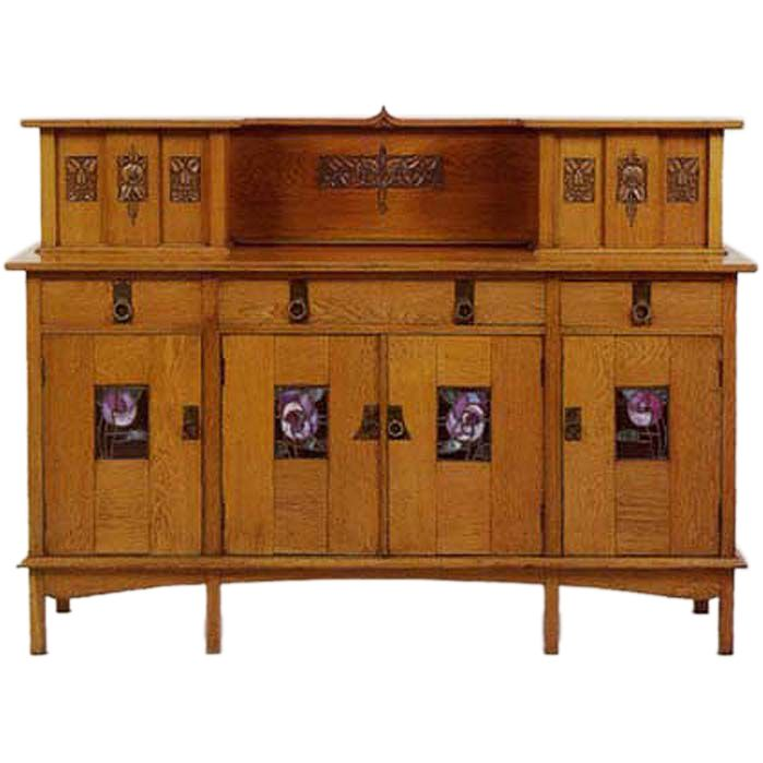 Glasgow Arts & Crafts Sideboard E.A. Taylor for Wylie & Lochhead. Craftsman  Style ... - 40 Best Sideboards Images On Pinterest Craftsman Furniture