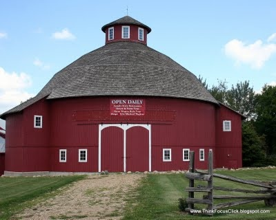 Round barn elkhart county indiana also had one of these for Barn house indiana