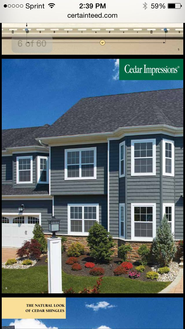 Love the siding, color is Flagstone.  Found on Certainteed.com