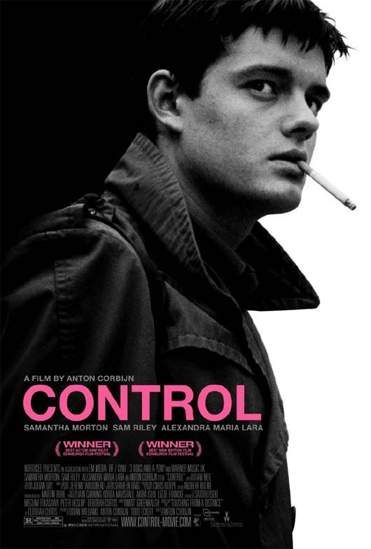 Control - 	Anton Corbijn - 2007 -  Film about Ian Curtis (Joy Division) - Sam Riley