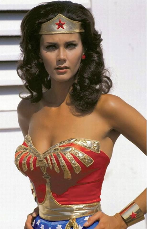 Lynda Carter. Wonder Woman.