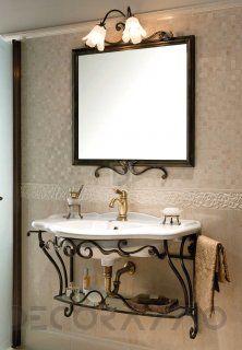 #forged #interior #bathroom #тумба под умывальник Gaia CAPITOLO VI  FERRO BATTUTO, LAUREN