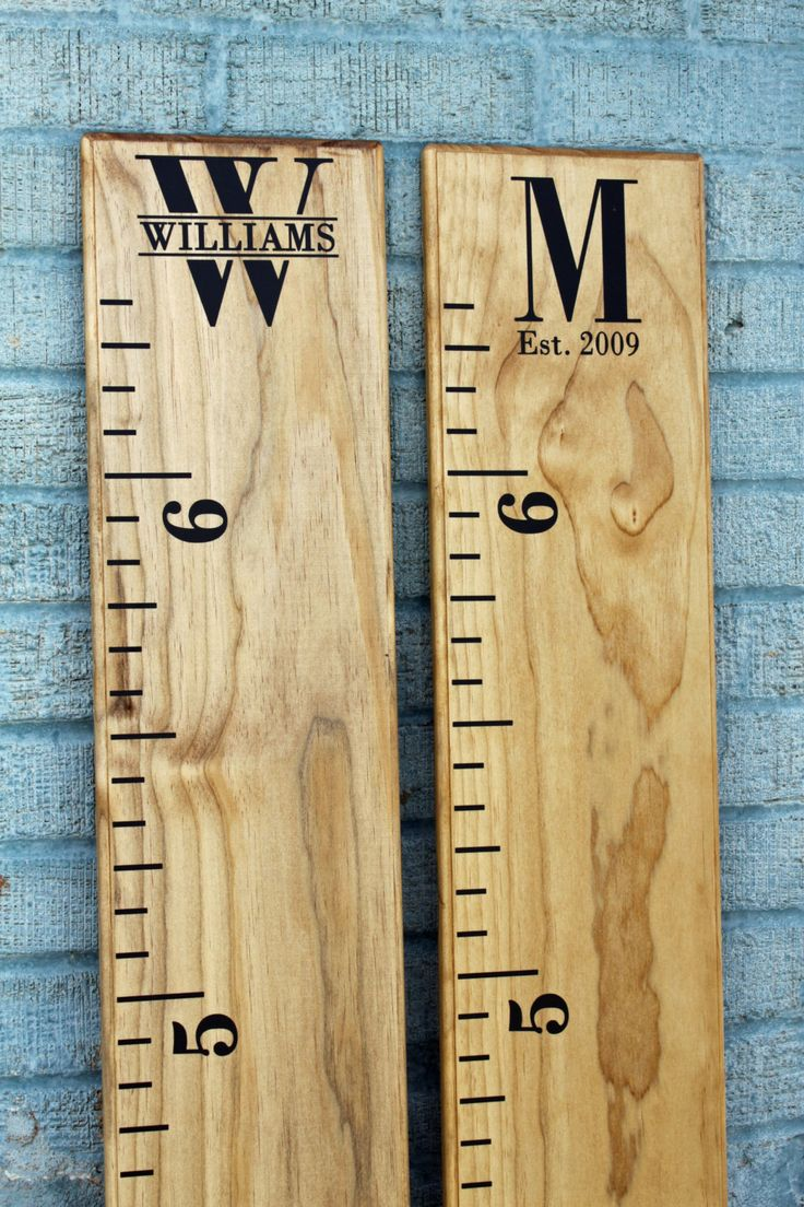Growth Chart Ruler Add On Custom Personalization Decal