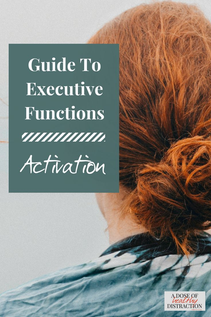 Executive functions explained using the models of Dr. Russell Barkley and Dr. Thomas Brown.  Tips for getting started and completing a task from start to finish.